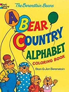 the berenstain bears a bear country alphabet coloring book - Berenstain Bears Coloring Book