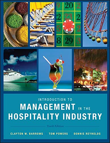 Introduction to Management in the Hospitality Industry by Wiley