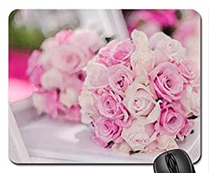 For CandyLace Mouse Pad, Mousepad (Flowers Mouse Pad, 10.2 x 8.3 x 0.12 inches)