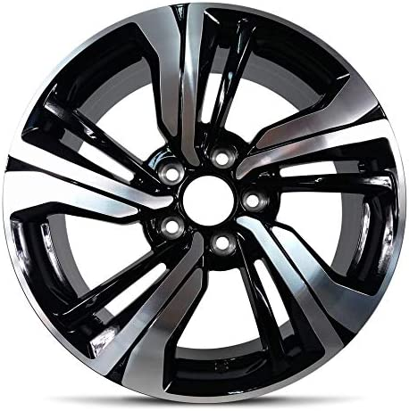 Amazon Com Road Ready Car Wheel For 2016 2020 Honda Civic 17 Inch 5 Lug Aluminum Rim Fits R17 Tire Exact Oem Replacement Full Size Spare Automotive
