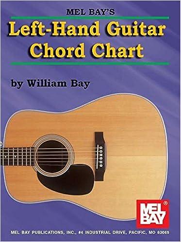 Mel Bay Left Hand Guitar Chord Chart William Bay 0796279076968