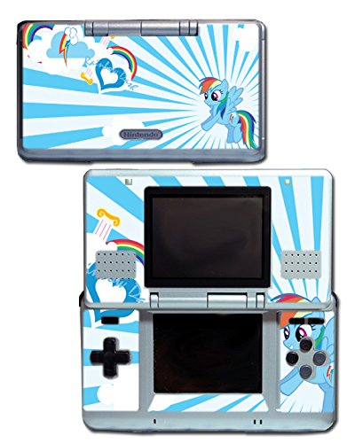 Rainbow Dash MLP My Little Pony Heart Video Game Vinyl Decal Skin Sticker Cover for Original Nintendo DS System (My Little Pony Xbox)