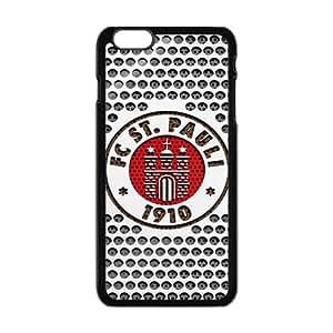 fc st pauli logo Phone Case for Iphone 6 Plus