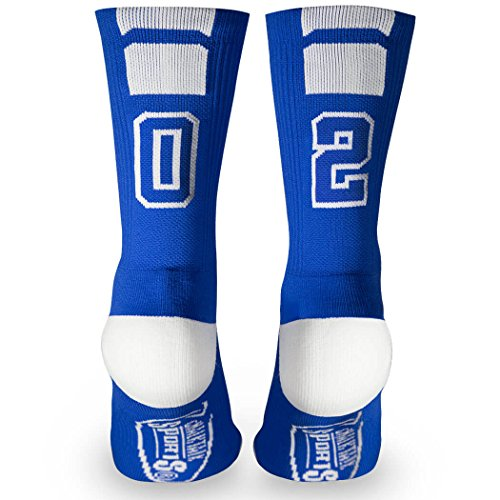 youth socks with numbers - 5