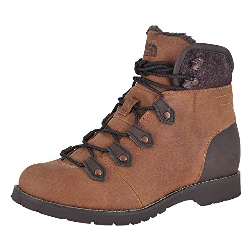 The North Face Ballard Boyfriend Boot Datchshund Brown/Damitasse Brn Womens Hiking Boots Size 7M by The North Face