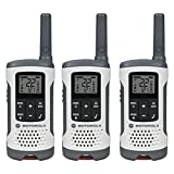 Walkie Talkie, Motorola Talkabout T260tp White Walkie Talkie Rechargeable, 3pk