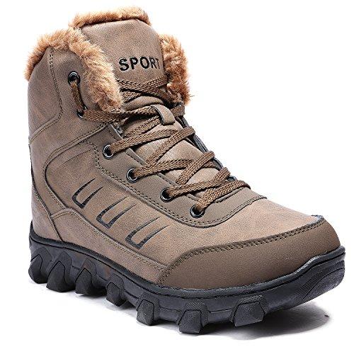 Fodera In Pelliccia Per Uomo In Pelle Da Uomo Allaperto Snow Boots 924khaki
