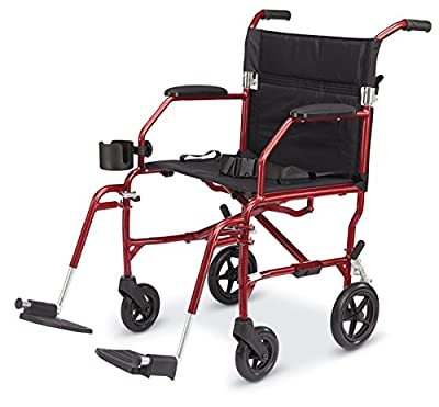 MDS808200SLSR - Freedom Transport Chairs,Silver