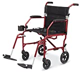 MDS808200F3S - Freedom Transport Chairs,Silver