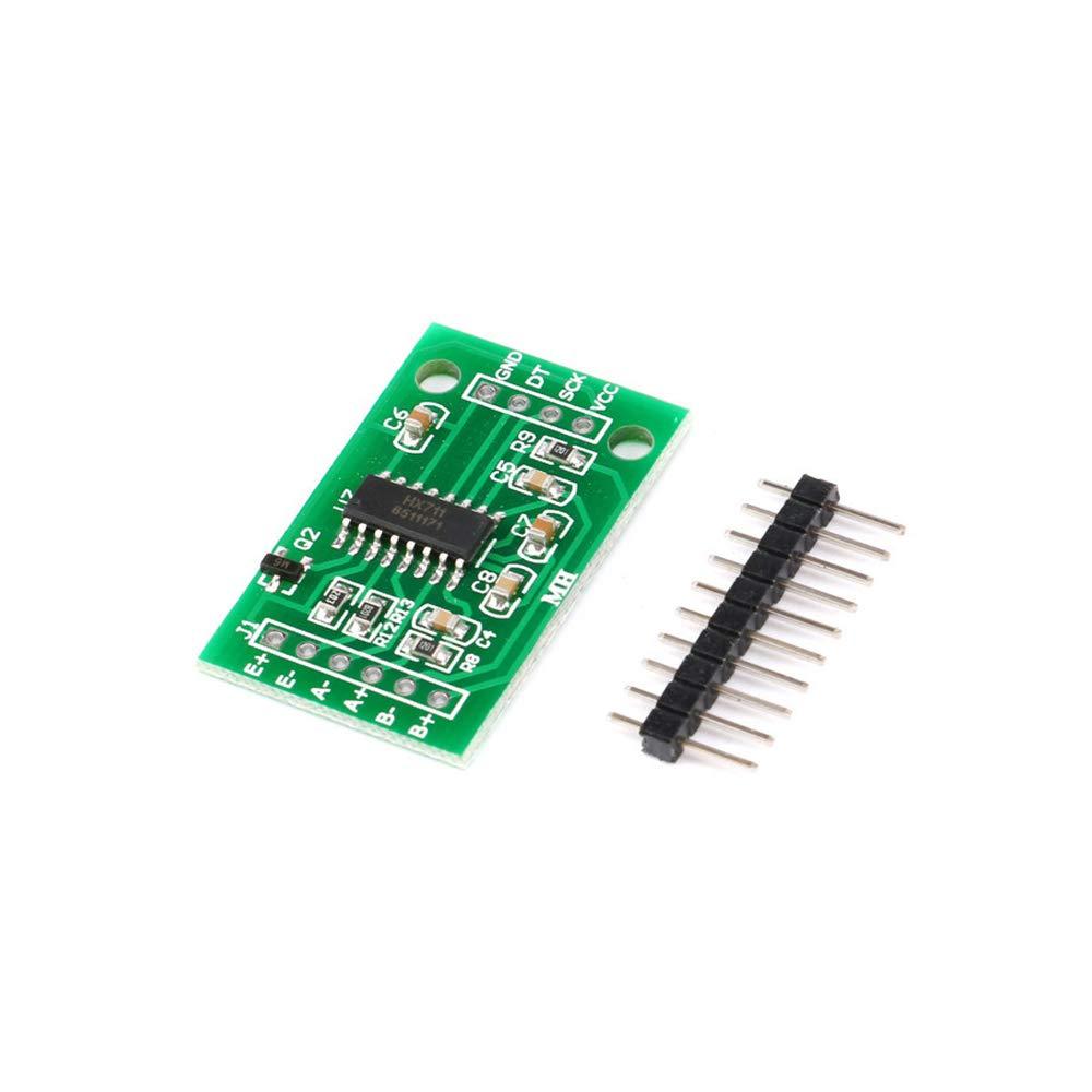 MFMYUANHAN Oie électronique HX711 Module de Pesage de Poids Capteur de Pression 24 Bits Module AD Kit électronique DIY 35 x 20 mm