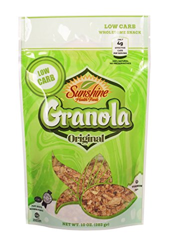 (Sunshine's Low Carb Granola (10 oz) Sugar Free, (Original))
