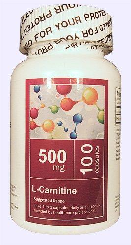 1 бутылка L-карнитин (фумарат) 500 мг 100 капсул от всей природы