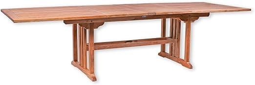 Table de Jardin Malang carré Extensible 200-300 cm Table ...