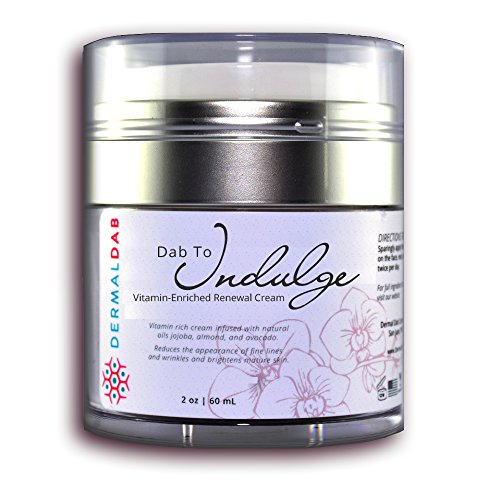 The Best Anti Aging Cream on Amazon! Vitamin & Antioxidant Moisturizer With Collagen, Citric Acid & Vitamins B, C, D, E & K. Brighten Skin & Remove Wrinkles. Dab to Indulge (1oz)