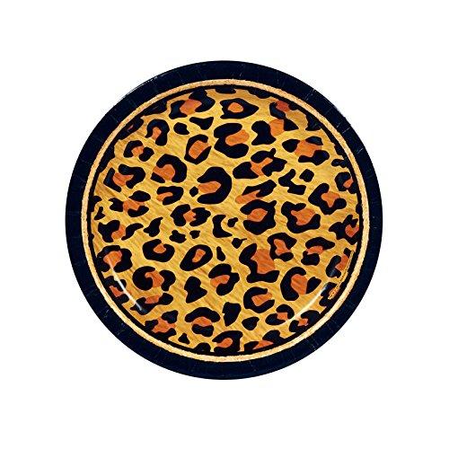 BirthdayExpress Safari Animal Adventure Party Dessert Plates (8)]()