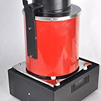 TOPQSC 3KG 1400W Máquina de fusión de oro digital 2012°F ...