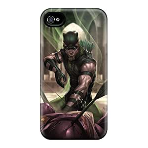 Top Quality Protection Green Arrow I4 Case Cover For Iphone 4/4s