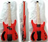 4 Strings Bass /6 Strings Lead Headless Double Sided Busuyi Guitar