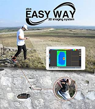 Amazon.com: GER DETECT Easy Way 3D System Metal Detector Professional Deep Seeking Detector - Underground Depth Scanner - Gold, Silver, Coins, Jewelry, ...