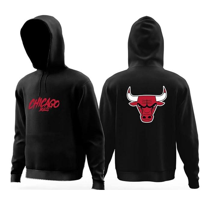 YHSports Chicago Bulls Sudaderas Con Capucha Para Hombre,Engrosado Más Terciopelo: Amazon.es: Ropa y accesorios