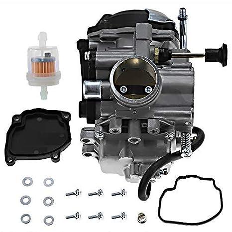Amazon.com: Carburador Zreneyfex para Yamaha Big Bear 350 ...