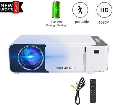 Mini proyector, J15 Manual para niños Focus 1080P Proyector de ...
