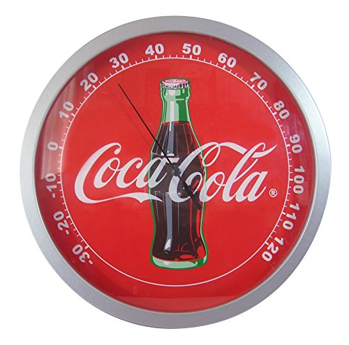 Coca Cola Wood Thermometer Temperature Measurement