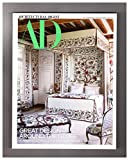 Architectural Digest - May, 2019. Great Design Around the Globe Issue. Chris Burch (cover); Lenny Kravitz; Clara Porset; Louis Vitton; Ini Archibong; Wes Gordon; Emporio Armani Ristorante