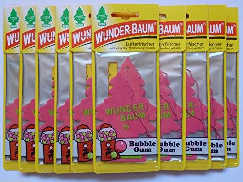 10-x-wunder-baumr-bubble-gumlufterfrischerautoduft-kaugummi