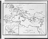 Photo: Highways,Roman Empire,Holy,roads,Great Britain,Germany,Poland,Spain,Italy,c1936