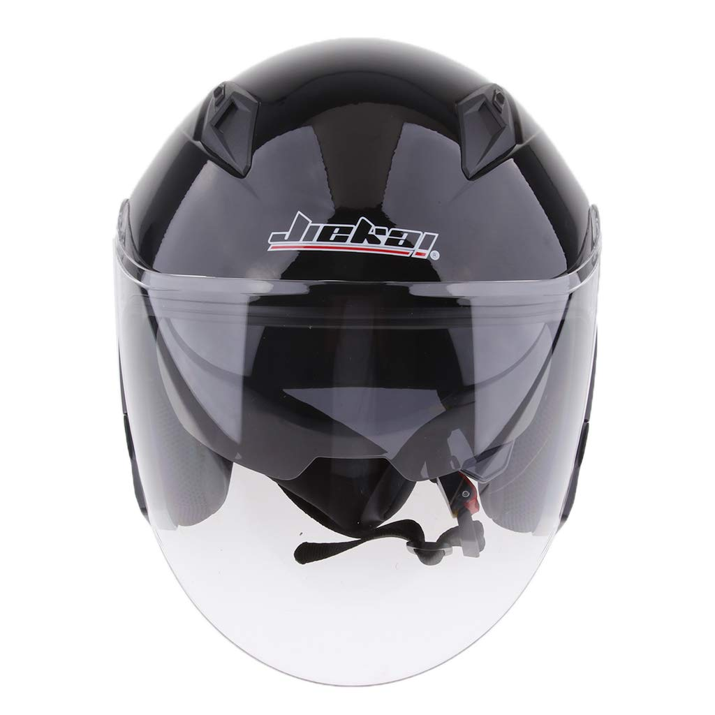 Grey M D DOLITY 3//4 Open Face Classic with Sun Visor Motorcycle Scooter Helmet M//L//XL//XXL