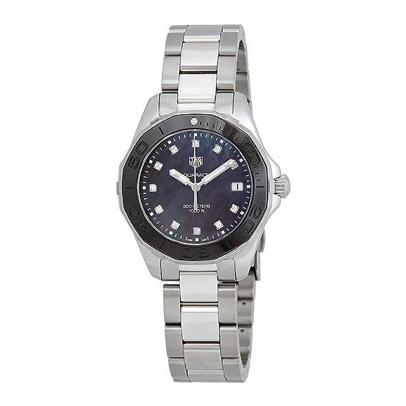 TAG Heuer Aquaracer Reloj de Mujer Cuarzo 35mm Correa de Acero WAY131M.BA0748