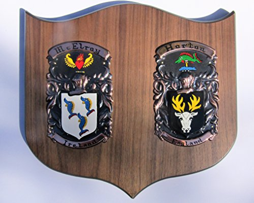 Double Cadet Family Crest by Shield And Crest
