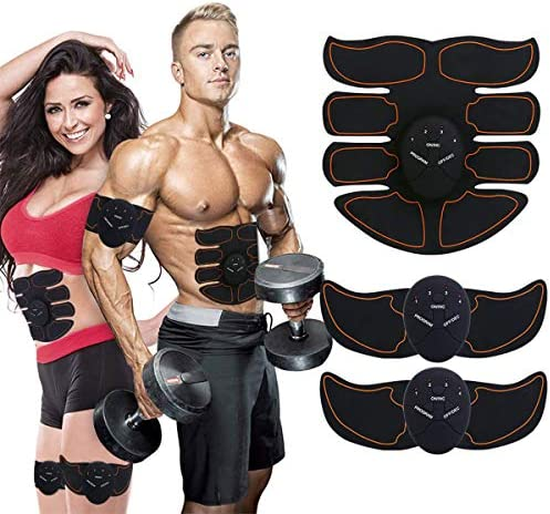Ben Belle Abs Stimulator, Muscle Toner, Abs Stimulating Belt- Abdominal Toner Training Device for Muscles- Wireless Portable Gym Device- Muscle Sculpting at Home, Abdomen Arm Leg Training