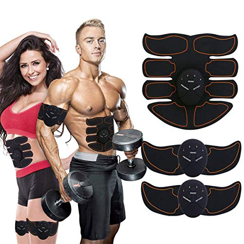 Ben Belle Abs Stimulator, Muscle Toner, Abs Stimulating Belt- Abdominal Toner Training Device for Muscles- Wireless Portable Gym Device- Muscle Sculpting at Home, Abdomen/Arm/Leg Training