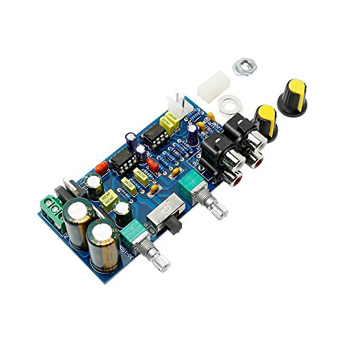 Low-pass Preamplifier Board with a Low-pass Filter+signal Input