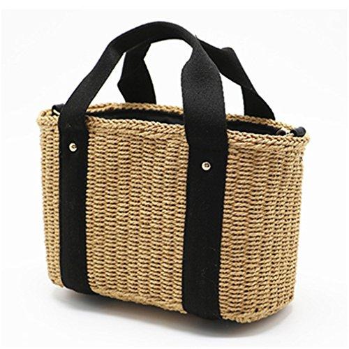 Natural Bags Crossbody Bag Women Straw Amuele Rattan Beach Handbag Bag A Braided 5AxanvvZw