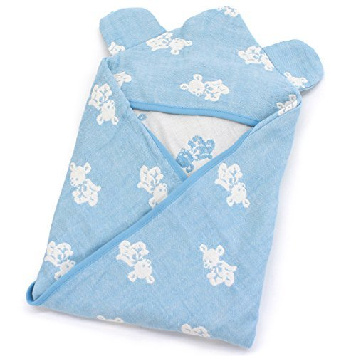 Toucher (Turner) Swaddle 4 layers gauze with ears baby Sw...