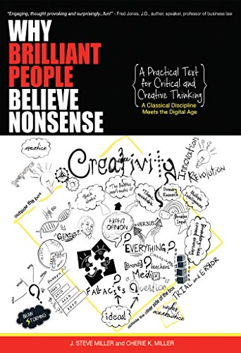 Amazon why brilliant people believe nonsense a practical text why brilliant people believe nonsense a practical text for critical and creative thinking by fandeluxe Image collections