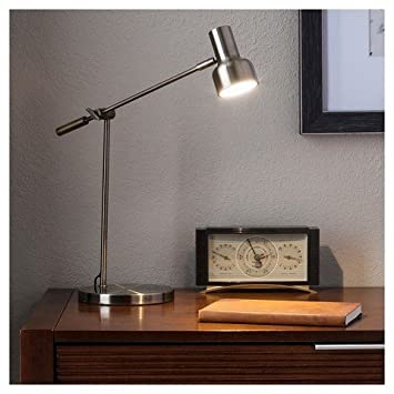 Cantilever LED Desk Lamp   Brass   Threshold™