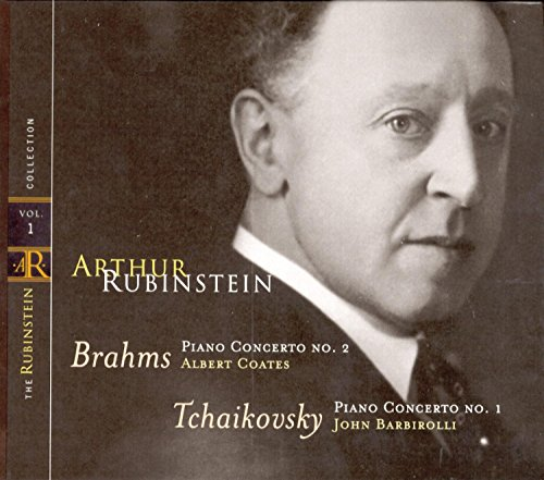Rubinstein Collection, Vol. 1: Brahms: Concerto No.2; Tchaikovsky: Concerto No. - Rubinstein Piano Arthur