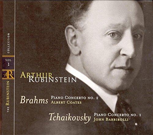 Rubinstein Collection, Vol. 1: Brahms: Concerto No.2; Tchaikovsky: Concerto No. - Piano Rubinstein Arthur