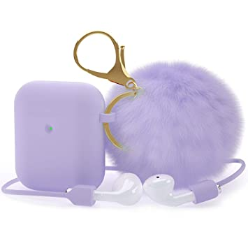 Amazon Com For Airpods Case Epuly Soft Silicone Cute Airpods