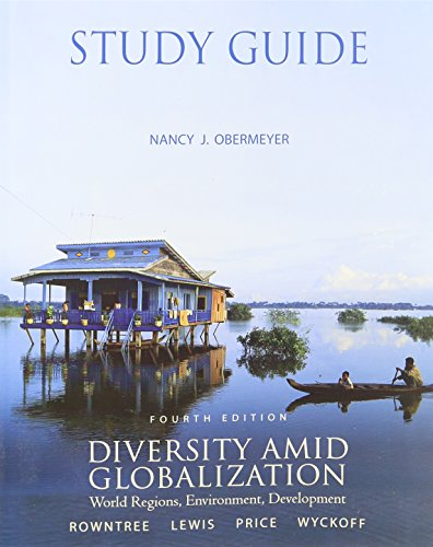 Study Guide for Diversity Amid Globalization