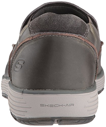 Skechers Mens Venick Perlo Slip-on Loafer Charcoal