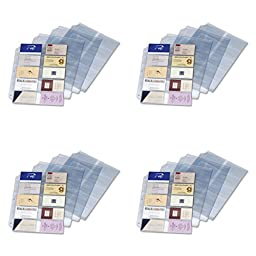Cardinal Business Card Refills (CRD7856000), 4 Packs