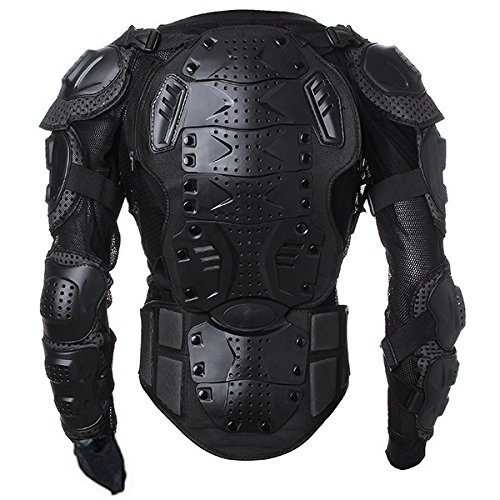 Motorcycle Parts Off Road Protector Spine Chest Gear Armor Clothing Full Body Protective Jacket Size L For Motorbike Standard Sport ATV Quad Dirt Bike Car