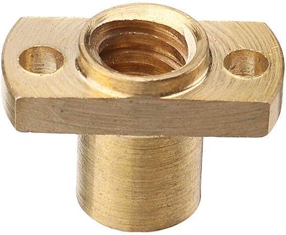 Copper Nut for T8 Lead Screw 8mm Diameter 4mm Lead CNC Router Engraver Parts Acc