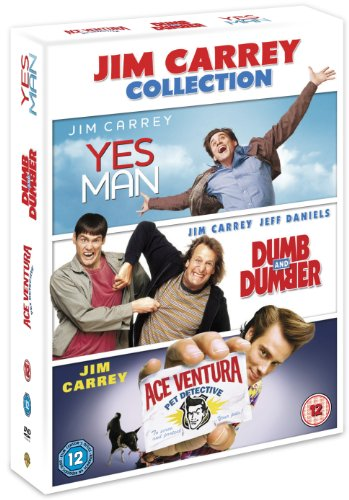 Jim Carey Triple - Yes Man / Dumb And Dumber / Ace Ventura [DVD]