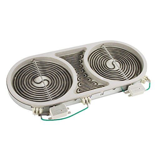 318258201 - Dual Radiant Bridge Element/Surface Burner (1800/2600 watt) for Stove/Oven by Frigidaire (Rep. 318258202, 318258200, 318178200, 318177910, 318177900)